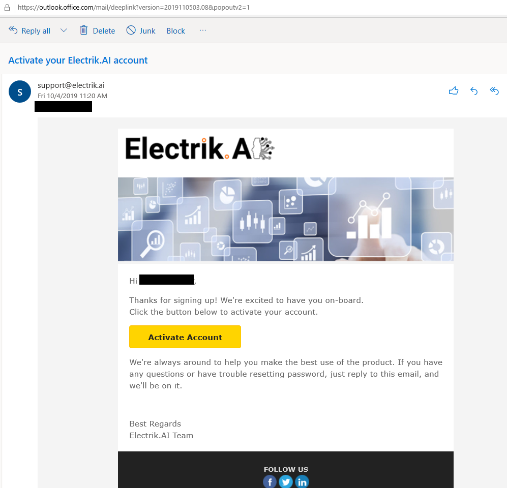 Activate Email Template-Electrik.ai_