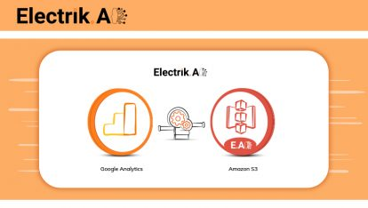 Export Hit Level Google Analytics Data to Amazon S3-ElectrikAI